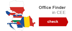 Office Finder in CEE region
