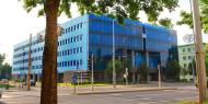 Blue Cube office building with office space for rent