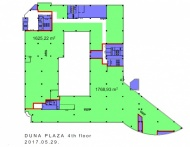 Typical floorplan in building